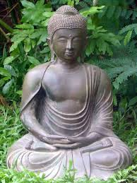 simple ideas for giving your garden a zen vibe buddha sculptures idea 7