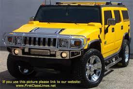 hammer car h3. yellow hummer hammer car h3