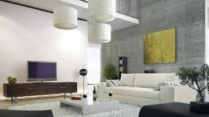 Small Picture Modern living room concrete wall mezzanine Interior Design Ideas