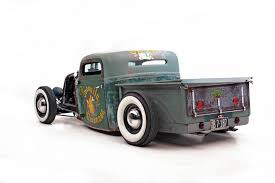 1935 ford rat rod hot rod pick up truck