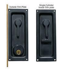 keyed sliding or pocket door lock baldwin 8590