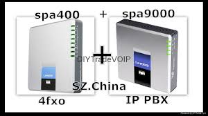 new unlocked spa400 4 fxo spa9000 ip pbx phone system