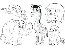 Printing Coloring Pages Of Animals Cute Animals Coloring Pages Cute