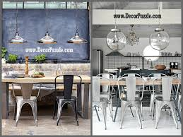 Industrial Style Dining Room Tables Industrial Kitchen Style Industrial Lighting Decor Industrial