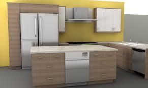 Kitchen Design Online Brilliant Modern Kitchen With U Shape Granite Black Counter Top