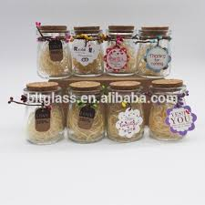 Decorate Jam Jars Glass Bottle With Cork For Milk Pudding Decorate Glass Jars Cheap 96