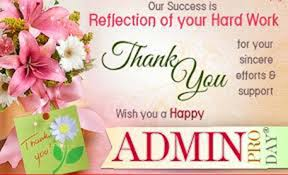 Administative Day Happy Administrative Professionals Day