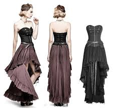 Details zu <b>Punk Rave Steampunk</b> Gothic Kleid Dress Military Korsett ...