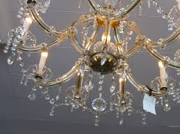 made in italy stunning crystal chandelier is handcrafted incised itlay clear drop crystal beads shiny crystal ball 10 light chandelier approx