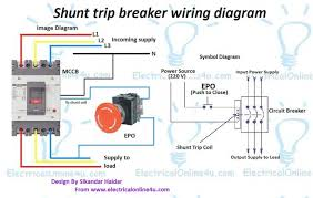 eaton shunt trip breaker wiring diagram eaton wiring diagram for shunt trip breaker the wiring diagram on eaton shunt trip breaker wiring diagram