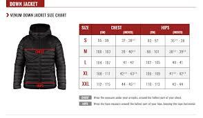 Hoodie Size Chart Venum Size Guide Venum Com Us