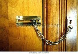 Door chain locks Cheap Door Door Chain Lock Chain Locks On Door Chain Locks Door Breathtaking Chain Door Lock Gallery Best Door Chain Lock Home Guides Sfgate Door Chain Lock Door Chain Door Chain Locks Home Depot