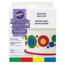 Wilton Fondant Color Mixing Chart Wilton Decorator Preferred Primary Colors Fondant 4 Pack Fondant Icing