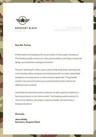 personal letterhead brown camouflage personal letterhead templates by canva