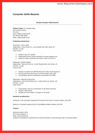 Types Of Skills For Resume Skills Resume Sample Good Resume Format 14