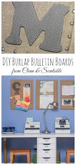 diy burlap bulletin board tutorial this is such as quick and easy way to dress