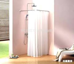square curtain rod enchanting matching shape of the shower rods for your with and rings chrome square curtain rod