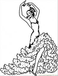 Small Picture fashion coloring pages Pages Flamenco Girl Countries