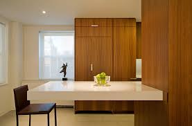 kitchen with floating countertop modern kitchen