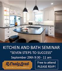 Creative Kitchen Design Classy Seminars R Craig Lord Construction Co