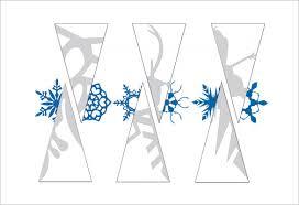 17 Paper Snowflake Templates Free Printable Sample Example