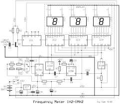 frequency counter circuit diagram the wiring diagram frequency counter circuit diagram wiring diagram circuit diagram