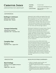 Best Resumes 2017 Gallery Of Resume 100 Best Resume Examples Best Cv Examples 10