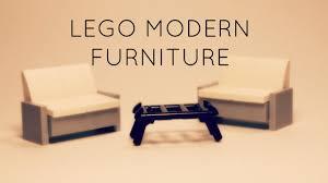 Lego Furniture Lego Modern Outdoor Furniture Tutorials With Td Bricks Youtube