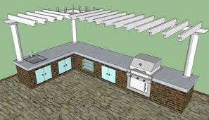 Building An Outdoor Kitchen Outdoor Kitchen Howtospecialist How To Build Step By Step Diy