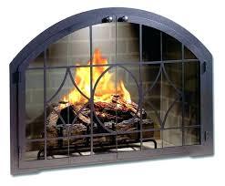 replacing fireplace doors fireplace doors gas cover replacements replacement screen repair