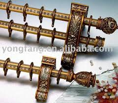 decorative curtain rods for amazing decorator of well shower rod plan 19