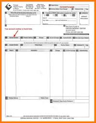 sample of cash bill medical invoice template blank bill format in word templates