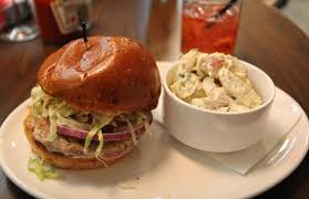 kitchen 24. adventures in food and drink ahi burger u0026 strawberry lemonade at hollywoodu0027s kitchen 24 l