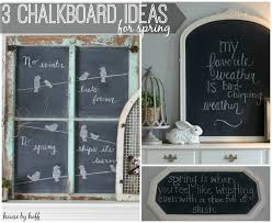 chalkboard decorating ideas new picture images of chalkboard ideas for  spring x jpg
