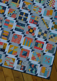Summer Blockbuster: Finishing the Quilt Top - Color Girl Quilts by ... & how to make a modern Simple sampler quilt by Sharon McConnell Adamdwight.com