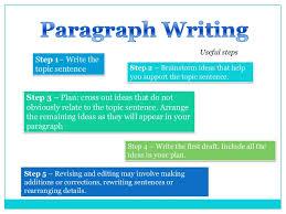 paragraph structure 7 1