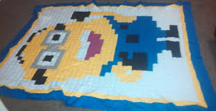 Items similar to Minion Despicable Me Twin/Full Size Patchwork ... & Items similar to Minion Despicable Me Twin/Full Size Patchwork Quilt on Etsy Adamdwight.com
