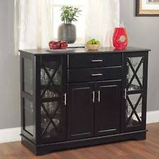 dining room storage cabinets. Wooden Buffet Furniture Dining Room Storage Cabinet Double Doors Drawers Cabinets