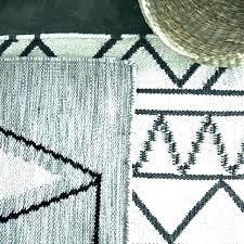 s black and white geometric rug colours harrietta