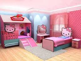 kids bedroom for twin girls. Unique For Hello Kitty Kids Bedroom Vanity Sets With Lights Of Full Size Headboard  Metal Pink Twin Girl In Little Girls Princess Race Car Childrens Beds Frame For