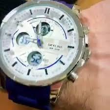 kenig_brand - <b>часы</b> Skyline dual time Blue (влагозащита...