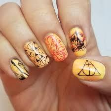 Harry Potter Nail Designs Mix 55 Best Harry Potter Nail Art Ideas