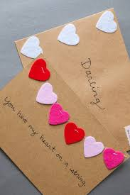... Medium Size of Valentine: Cutealentines Day Giftsalentine Diy Cards  Homemade Ideas For Guys Heart String