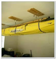kayak storage garage kayak storage garage pulley