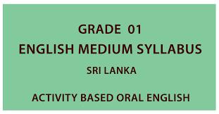 First grade tamil worksheets for grade 1. Grade 1 English Medium Syllabus Sri Lanka
