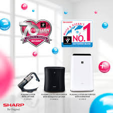 sharp plasmacluster. the sharp plasmacluster air purifiers: world and asean\u0027s no. 1 purifier, doctor recommended