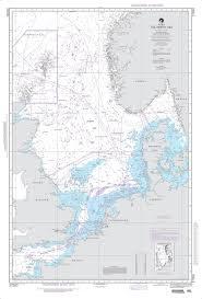 Nga Nautical Chart 37000 Int 140 The North Sea