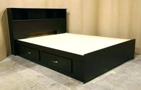 Queen Size Bed With Drawers Decorating Stunning Frame Bargain ...