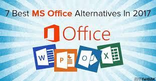 tech office alternative. 7 Best Alternatives Of Microsoft Office In 2017 Tech Office Alternative C