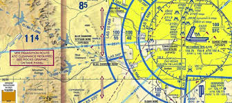 How Do I View Class B Vfr Transition Route Information